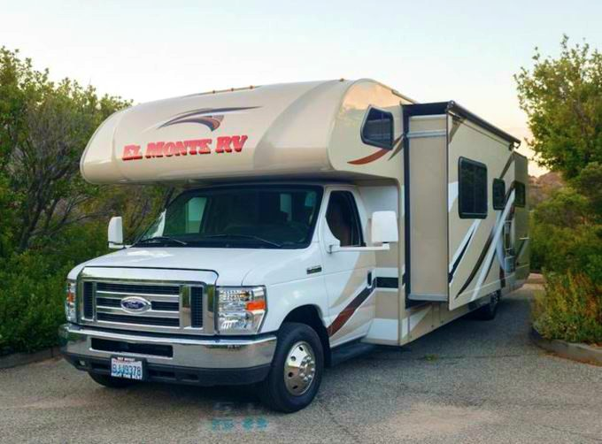 Large USA Motorhome rental