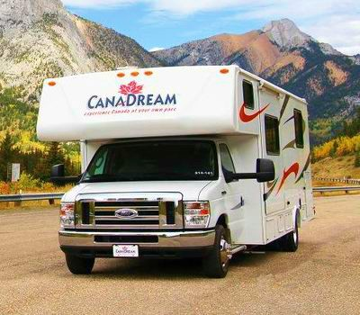 Medium motorhomes Canada